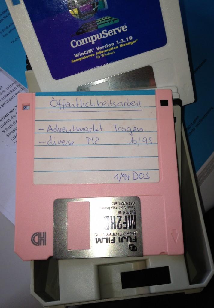 Disketten-Leben